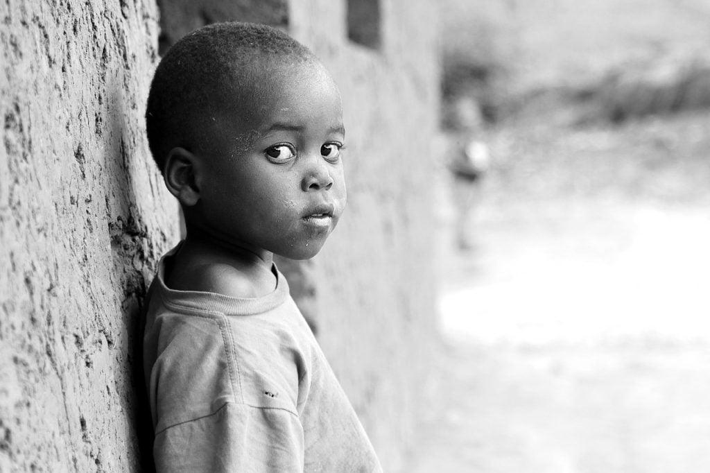 africa, children, village